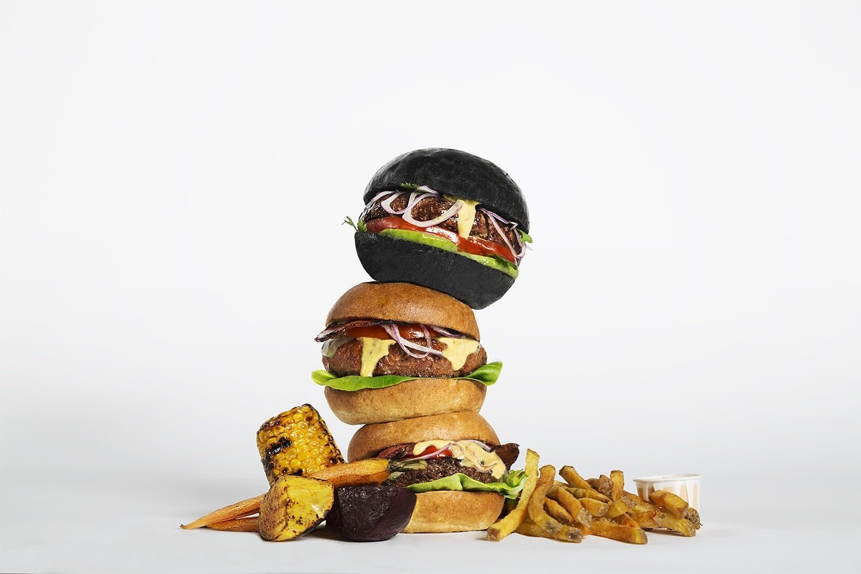 Thrill Grill Black Burger